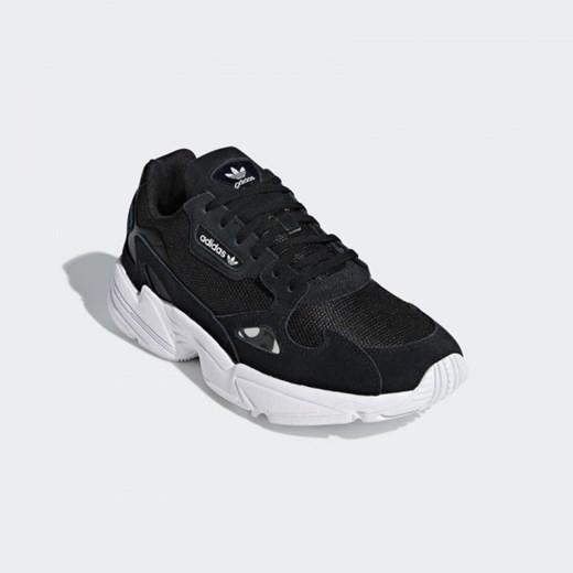 Buty damskie sneakersy adidas Originals Falcon B28129 CZARNY sneakerstudio.pl