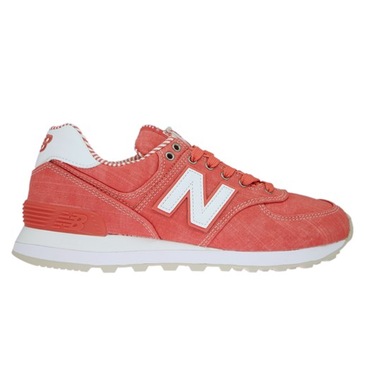 New Balance WL574CHE Beach Chambray Coral with White  New Balance 37.5 Sneakers de Luxe