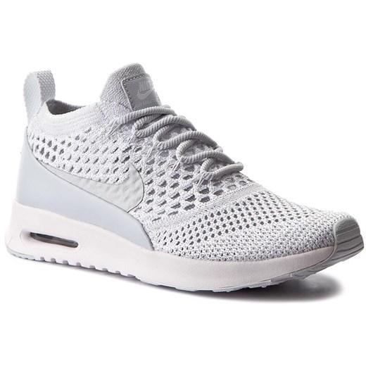 Buty sportowe damskie Nike air max thea gładkie białe w Domodi