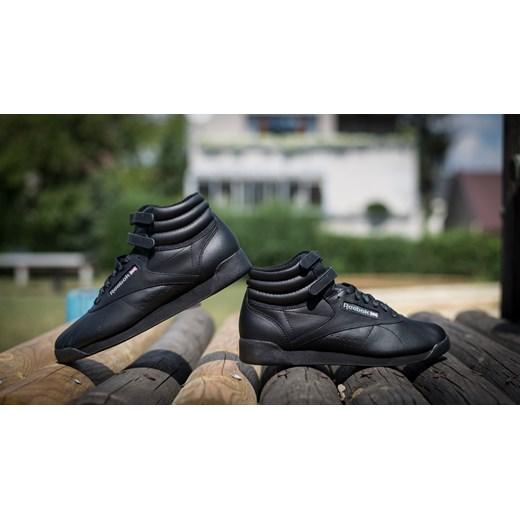 BUTY REEBOK FREESTYLE HI 2240 sneakerstudio pl czarny skÓra