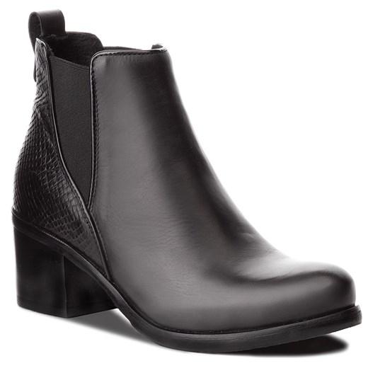 Sandały damskie Lasocki bez wzorów eleganckie skórzane w Domodi