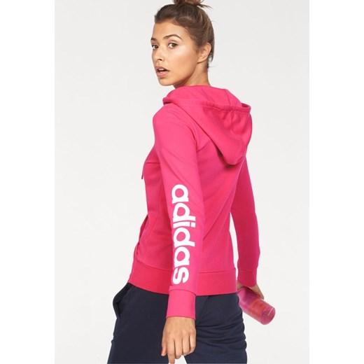 Różowa bluza sportowa Adidas Performance w Domodi
