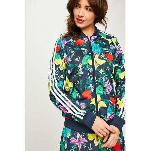 adidas bluza z kapturem damska kwiaty