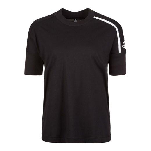 Bluzka sportowa Adidas Performance bez wzorów na fitness