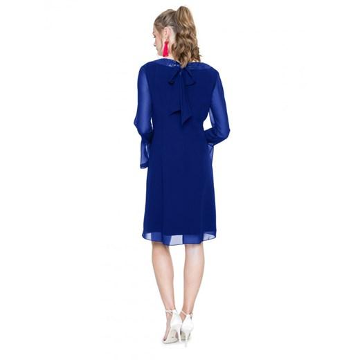Sukienka L'AF z długimi rękawami Odzież Damska YJ niebieski SXOK