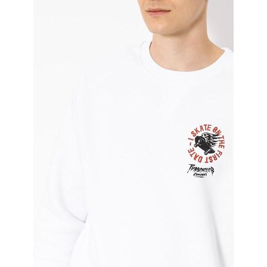 Bluza męska Turbokolor biała bez wzorów