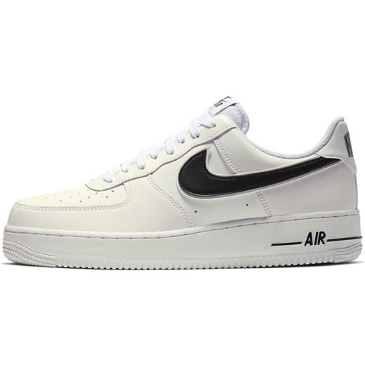 Buty sportowe męskie Nike air force białe wiosenne w Domodi