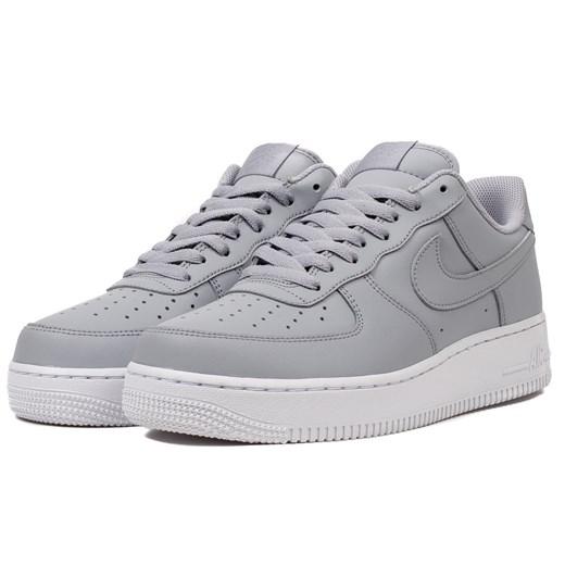 Buty sportowe męskie Nike air force szare sznurowane na wiosnę