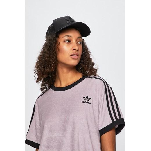 Bluzka sportowa Adidas Originals bez wzorów