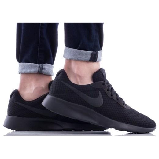 Buty sportowe męskie Nike tanjun czarne sznurowane