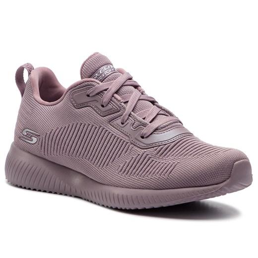 Buty sportowe damskie Skechers do biegania różowe sznurowane