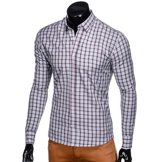 Koszula męska Ombre Clothing z długim rękawem na jesień w Domodi  is9sg