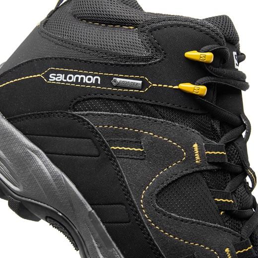 Buty trekkingowe męskie Salomon czarne wiązane w Domodi