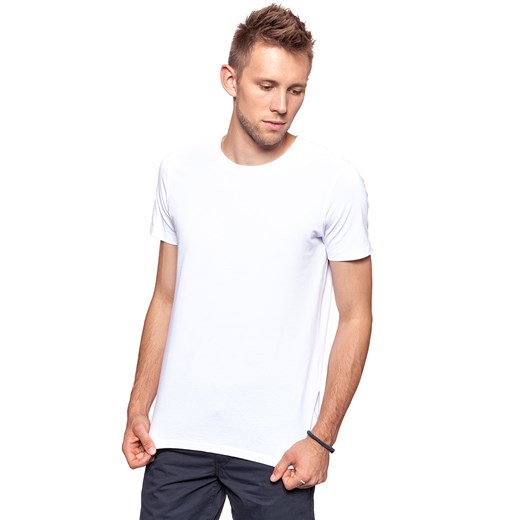 JACK AND JONES T-SHIRT CREW NECK NOOS WHITE 12119550  Jack & Jones XS promocja YouNeedit.pl