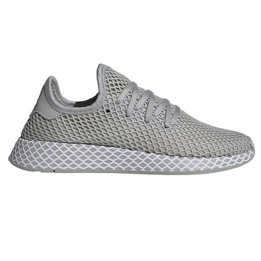 Buty sportowe męskie szare Adidas sznurowane w Domodi