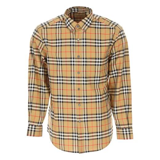 Koszula męska Burberry bawełniana w Domodi  lQrLe