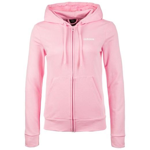 Bluza sportowa różowa Adidas Performance z dresu