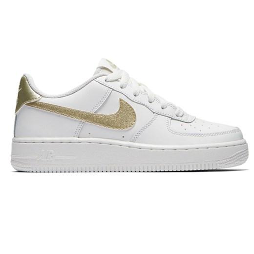 Buty sportowe damskie białe Nike do biegania air force