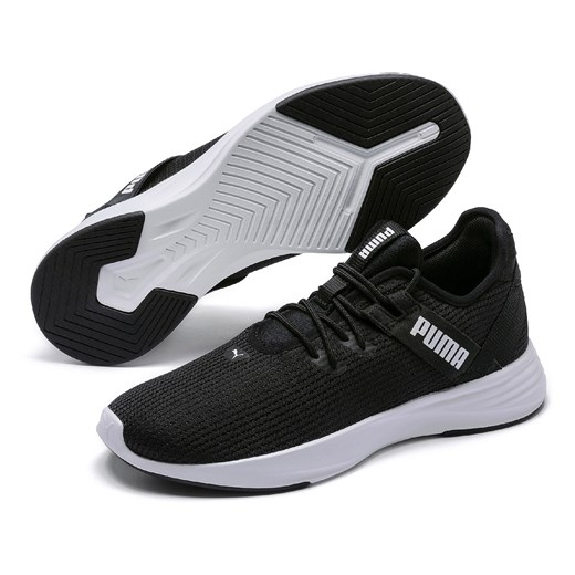 Buty sportowe damskie Puma gładkie sznurowane w Domodi