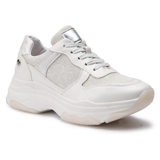 Sneakersy damskie Xti wiązane z tworzywa sztucznego