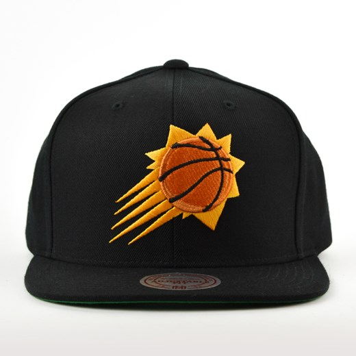 Czapka Mitchell and Ness snapback Solid Team Colour SB Phoenix Suns black Mitchell And Ness  uniwersalny matshop.pl