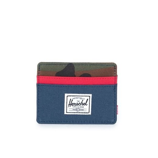 Portfel Herschel Charlie Wallet navy / red / woodland camo (10045-00041) Herschel Supply Co.  uniwersalny bludshop.com
