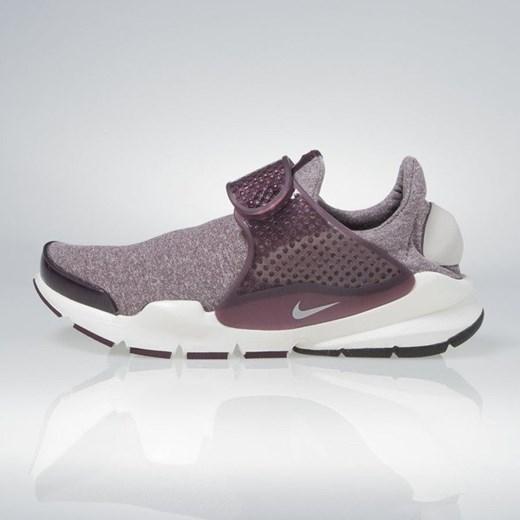 Buty sportowe damskie Nike sneakersy szare płaskie bez