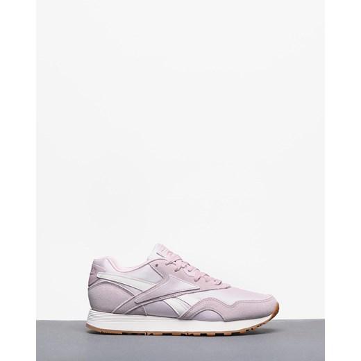 Buty sportowe damskie Reebok Classic na fitness płaskie różowe bez wzorów