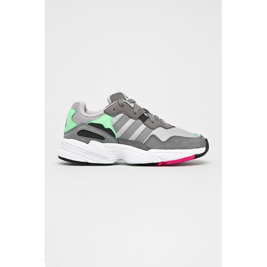Buty sportowe damskie Adidas Originals bez wzorów sznurowane