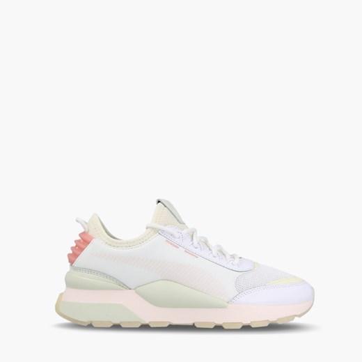 Białe obuwie sportowe damskie Puma, bez zapięcia, na fitness