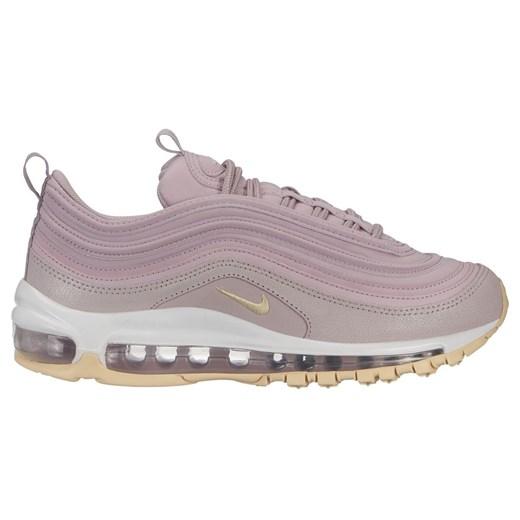 Buty sportowe damskie różowe Nike do biegania zamszowe