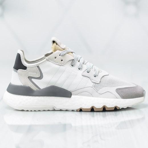 Buty sportowe męskie Adidas beżowe sznurowane