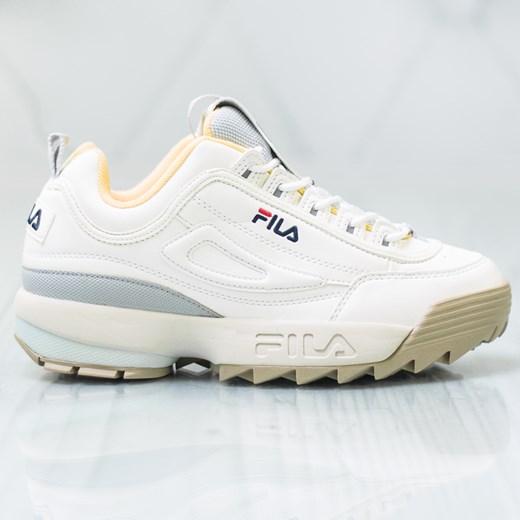 Sneakersy damskie Fila gładkie sportowe w Domodi