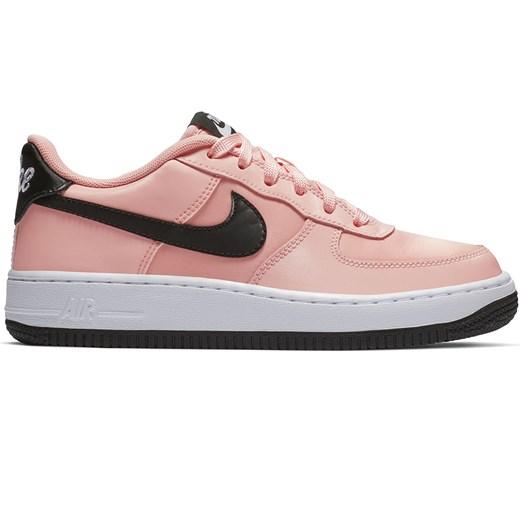 Buty sportowe damskie różowe Nike do biegania air force gładkie