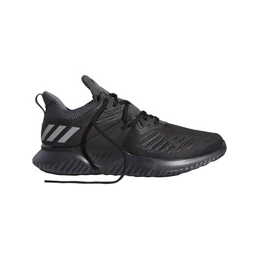 Czarne buty sportowe męskie Adidas Performance alphabounce sznurowane