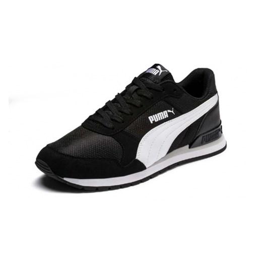 Buty sportowe damskie Puma gładkie sznurowane płaskie
