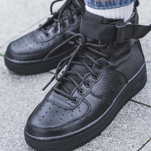 Nike SF Air Force 1 Mid czarny w Domodi