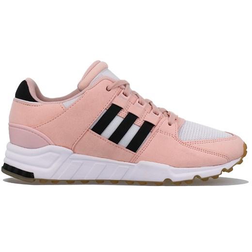 Buty sportowe damskie Adidas do biegania eqt support z nubuku eleganckie na płaskiej podeszwie sznurowane