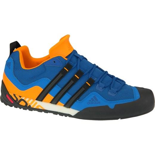 Buty sportowe męskie Adidas terrex niebieskie sznurowane