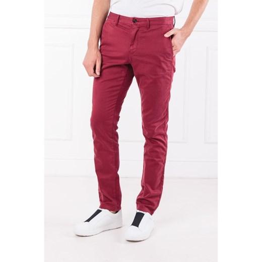 Spodnie męskie Tommy Hilfiger czerwone