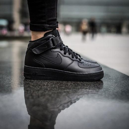 nike air force mid dark grey polska