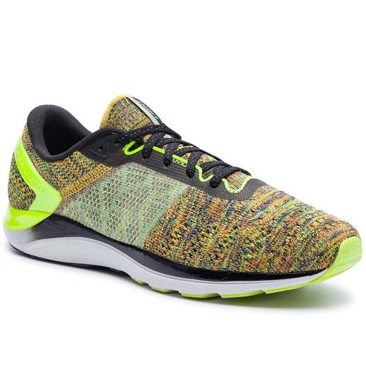 Zielone buty sportowe m?skie Li Ning sznurowane z tworzywa