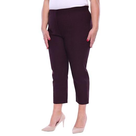 Spodnie damskie czarne casual na wiosnę w Domodi