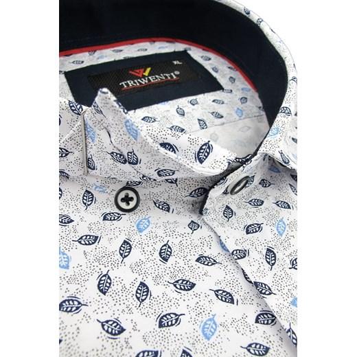 Koszula męska Triwenti z krótkim rękawem w Domodi  COXm7