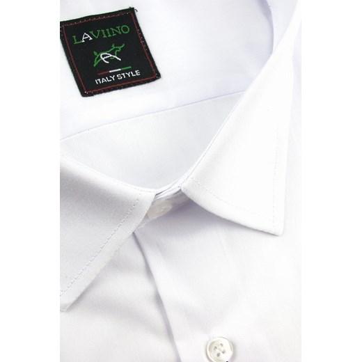 Koszula męska Laviino z krótkimi rękawami na wiosnę z