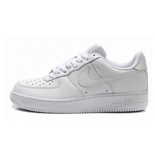 Buty sportowe męskie Nike air force sznurowane białe
