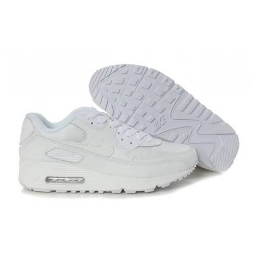 Buty sportowe męskie Nike air max 91 białe ze skóry