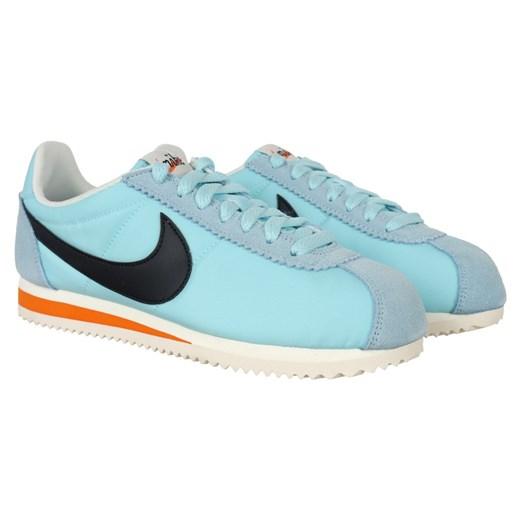Buty sportowe damskie Nike cortez gładkie sznurowane w Domodi