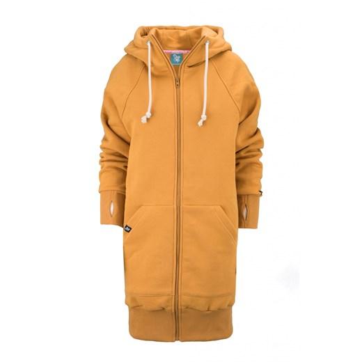 bluza rozpinana wiosna kurtka długa damska