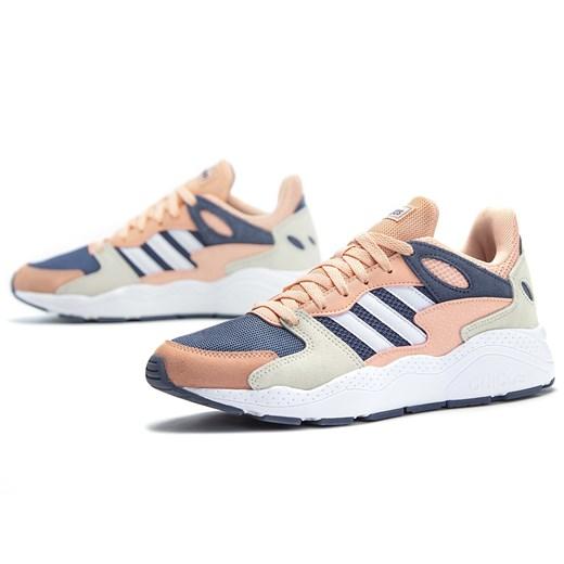 Adidas buty sportowe damskie wielokolorowe sznurowane bez